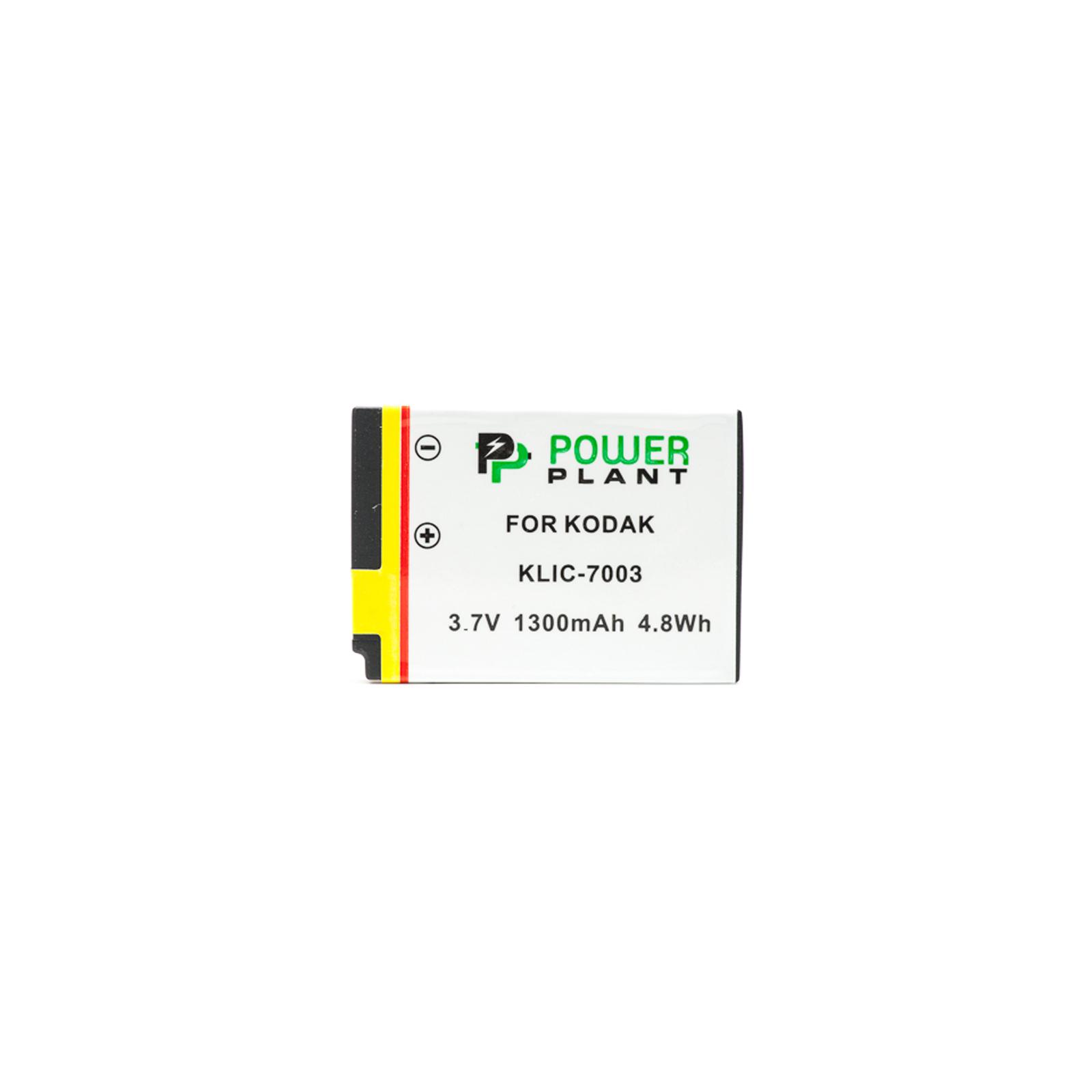 Аккумулятор к фото/видео PowerPlant Kodak KLIC-7003 (DV00DV1220) изображение 2