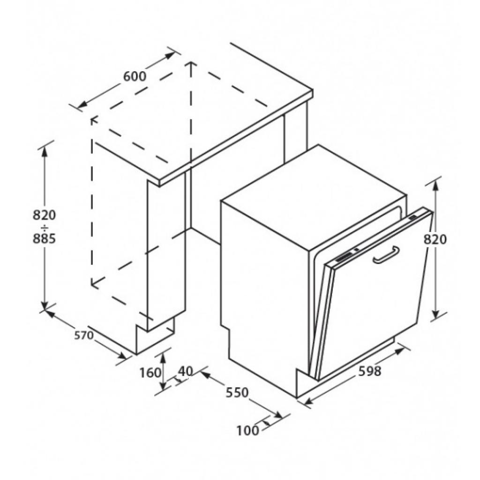 Посудомоечная машина CANDY CDI 2210/E-S (CDI2210/E-S) изображение 2