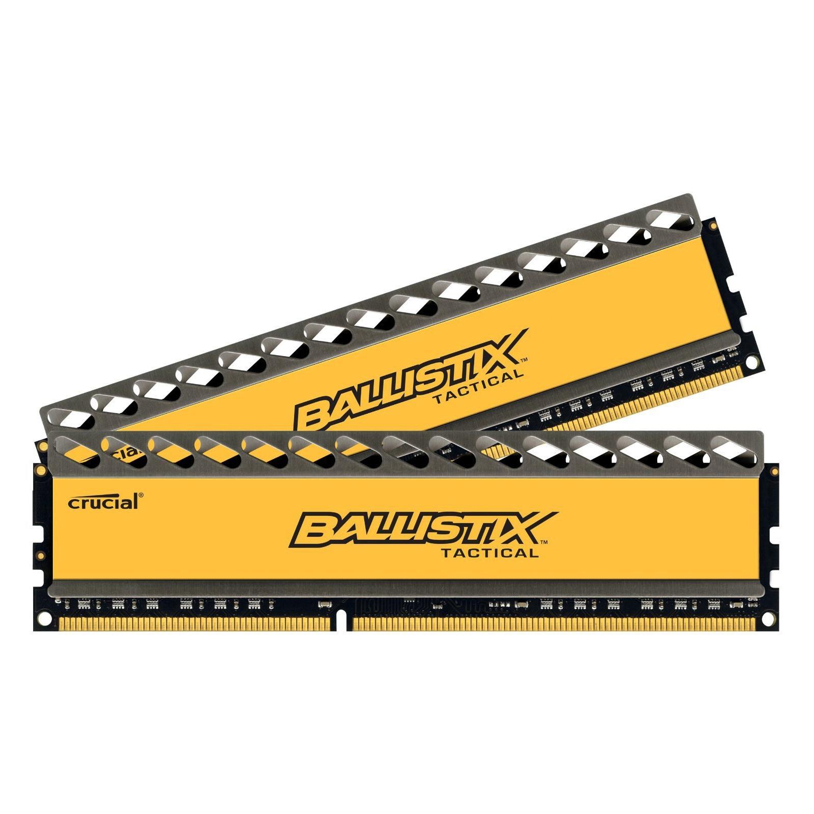 Модуль памяти для компьютера DDR3 8GB (2x4GB) 1600 MHz BallistiX Tactical MICRON (BLT2CP4G3D1608DT1TX0CEU) изображение 2
