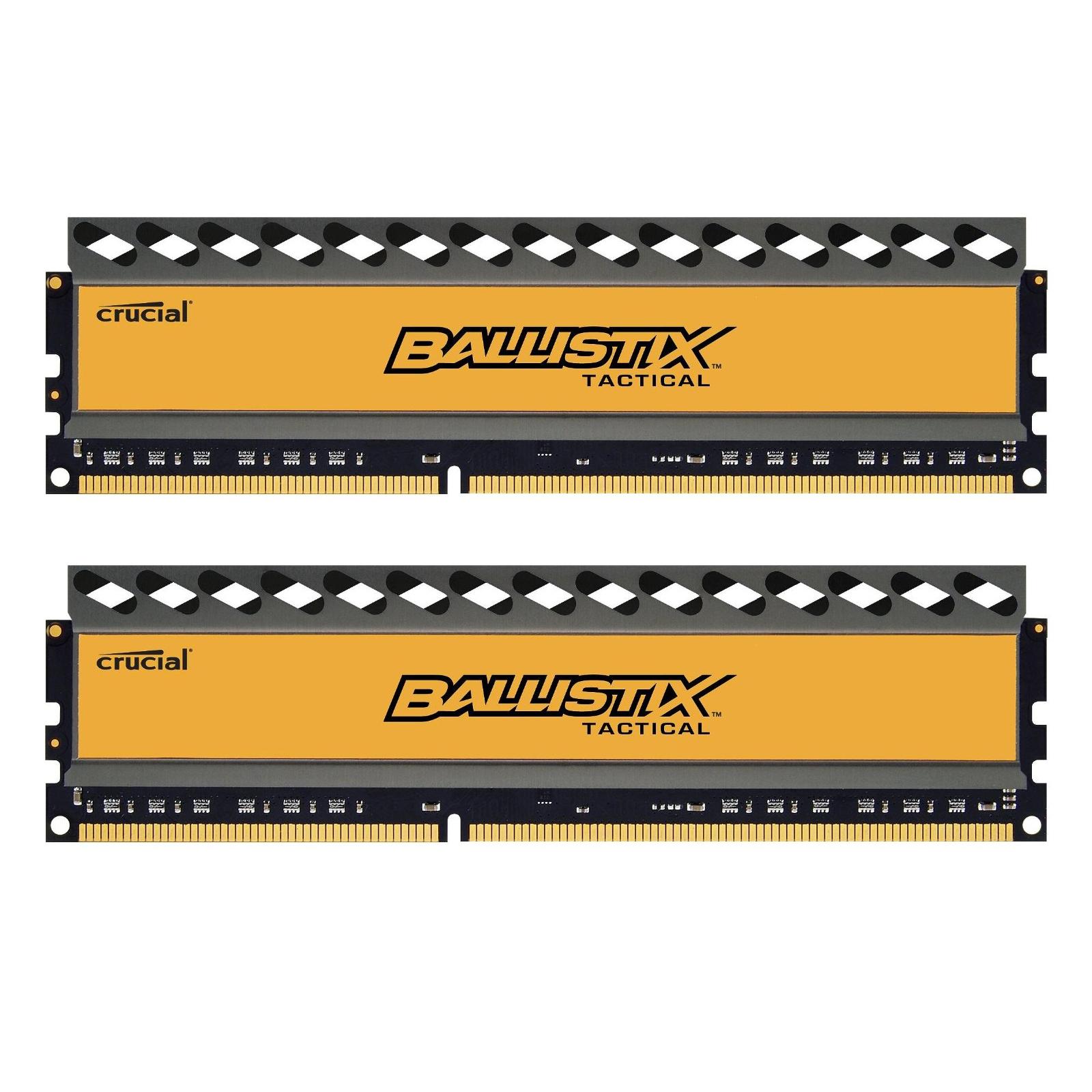 Модуль памяти для компьютера DDR3 8GB (2x4GB) 1600 MHz BallistiX Tactical MICRON (BLT2CP4G3D1608DT1TX0CEU)