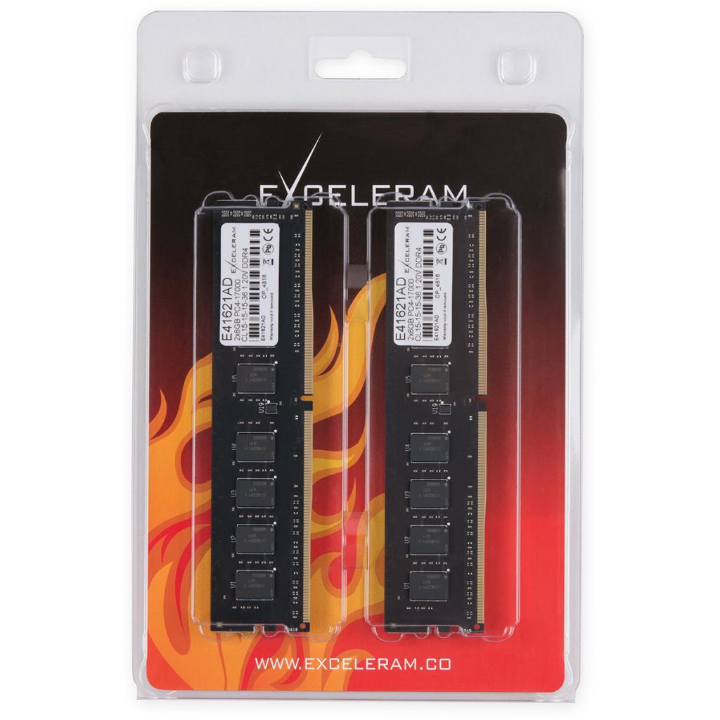Модуль памяти для компьютера DDR4 16GB (2x8GB) 2133 MHz eXceleram (E41621AD) изображение 2