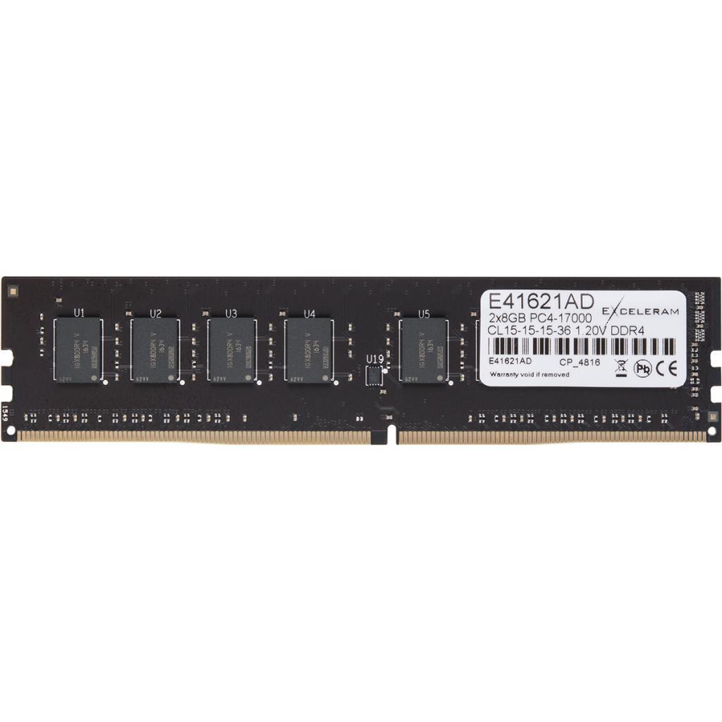 Модуль памяти для компьютера DDR4 16GB (2x8GB) 2133 MHz eXceleram (E41621AD) изображение 4