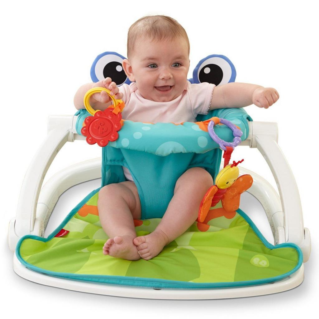 Кресло-качалка Fisher-Price Лягушонок (BFB12) изображение 6