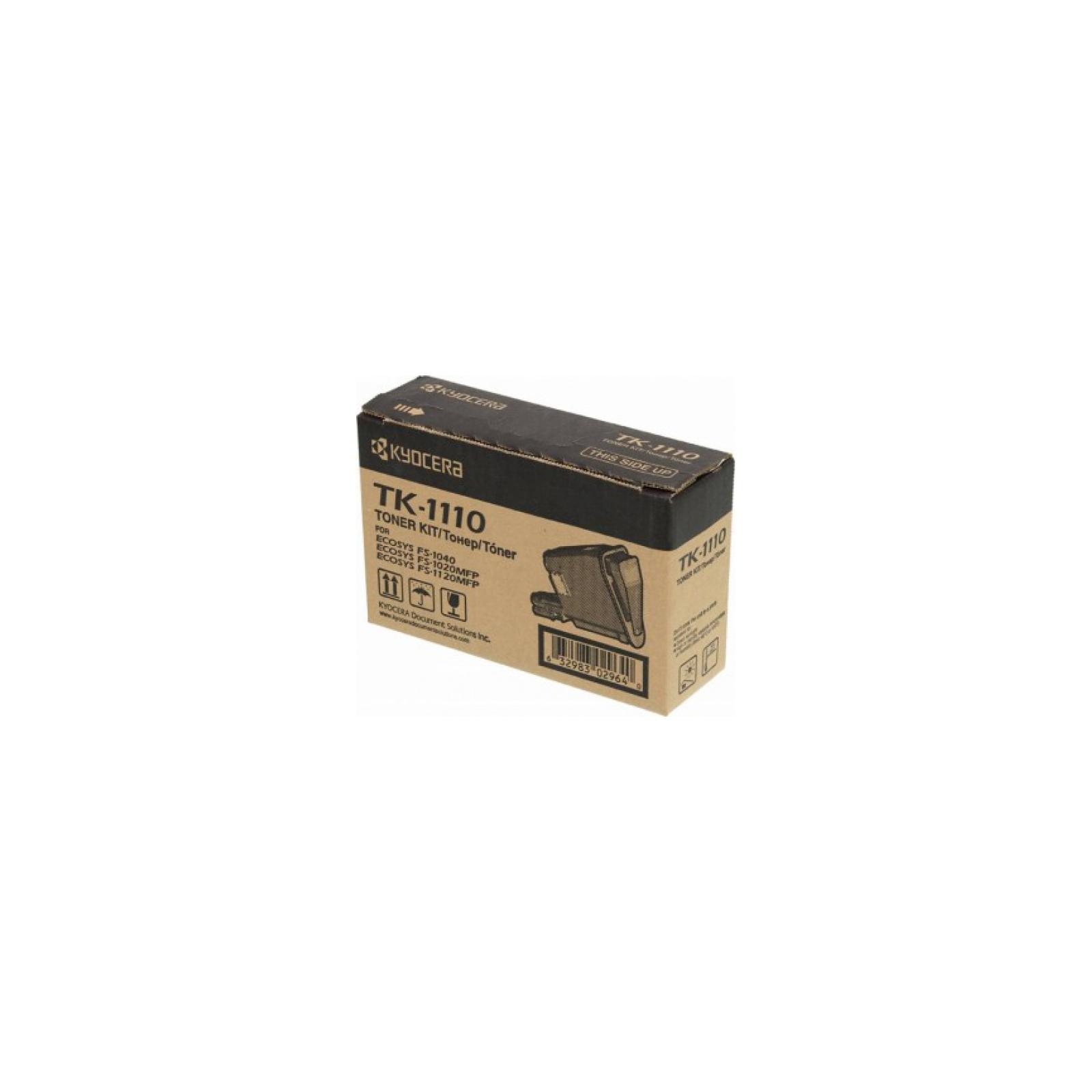 Тонер-картридж Kyocera TK-1110 (1T02M50NXV) изображение 2