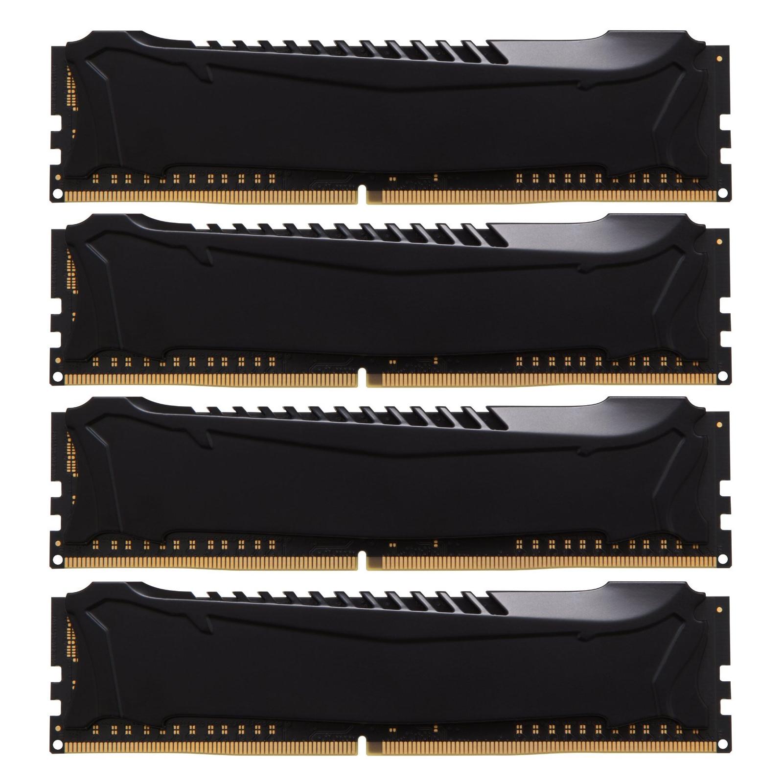 Модуль памяти для компьютера DDR4 32GB (4x8GB) 2800 MHz HyperX Savage Black Kingston (HX428C14SB2K4/32) изображение 3
