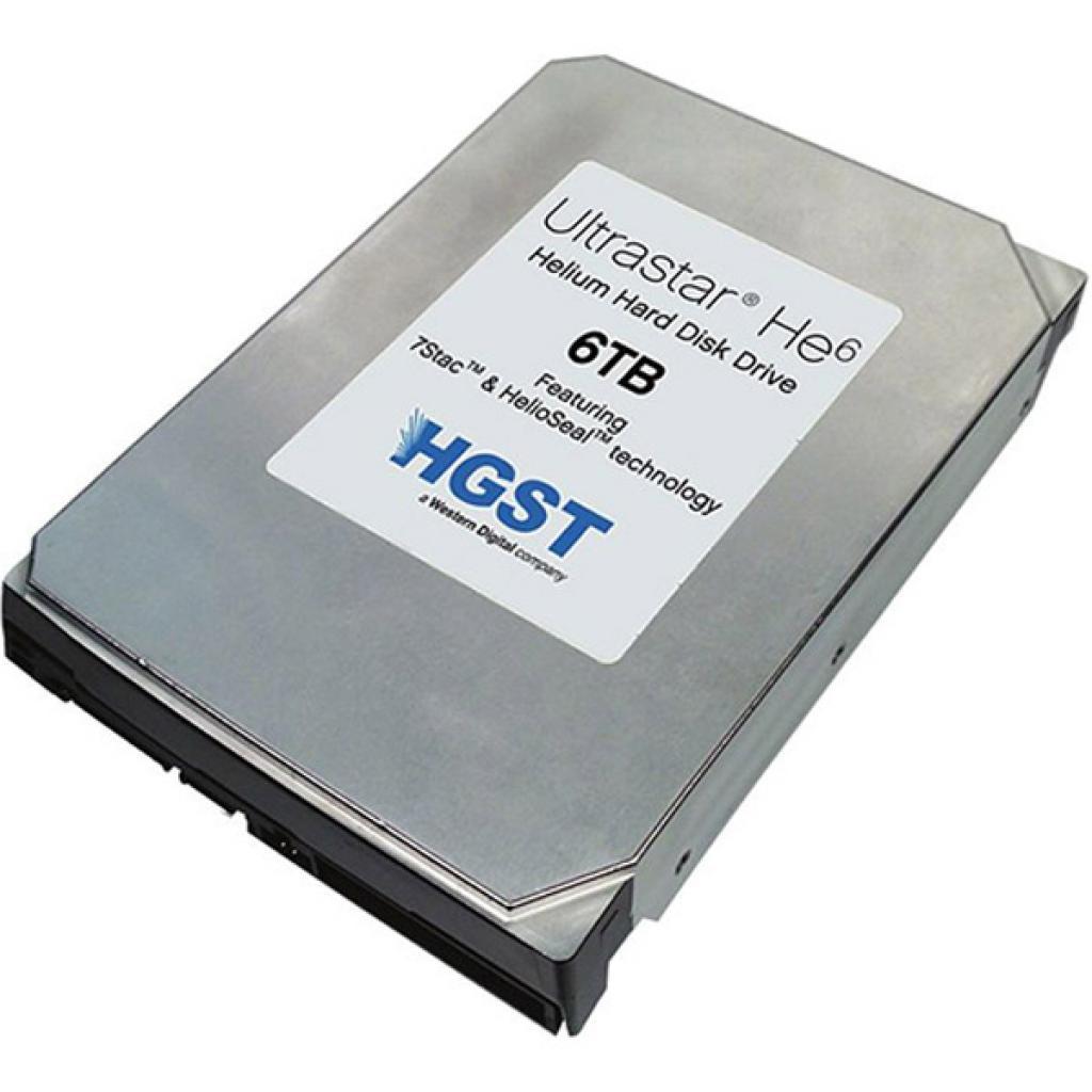 Жесткий диск для сервера 6TB Hitachi HGST (0F18370 / HUS726060ALS640)