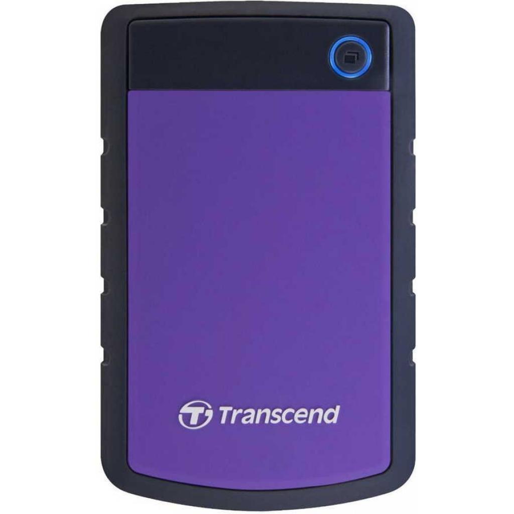 "Внешний жесткий диск 2.5"" 3TB Transcend (TS3TSJ25H3P) изображение 2"