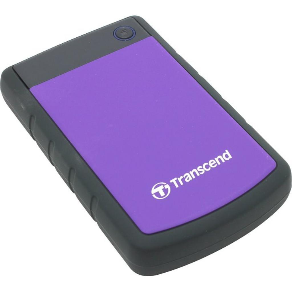 "Внешний жесткий диск 2.5"" 3TB Transcend (TS3TSJ25H3P) изображение 4"