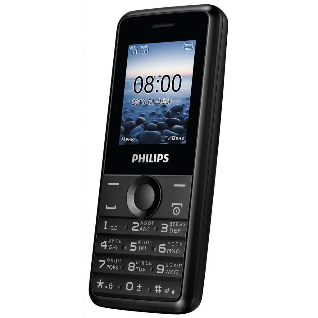 Мобильный телефон PHILIPS Xenium E103 Black изображение 3