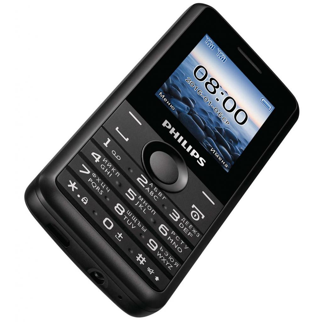 Мобильный телефон PHILIPS Xenium E103 Black изображение 4
