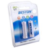 Аккумулятор BESTON AA 2500mAh Ni-MH * 2 (AAB1836)