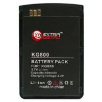 Аккумуляторная батарея EXTRADIGITAL LG KG800 (1050 mAh) (DV00DV6044)
