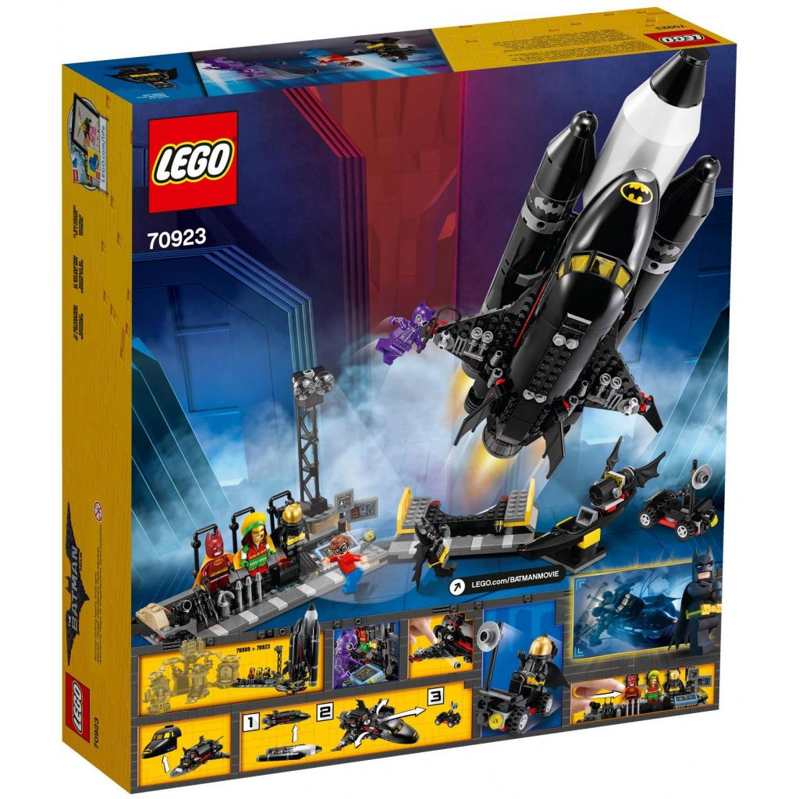 Конструктор LEGO Batman Movie Космический бетшатл (70923) изображение 11