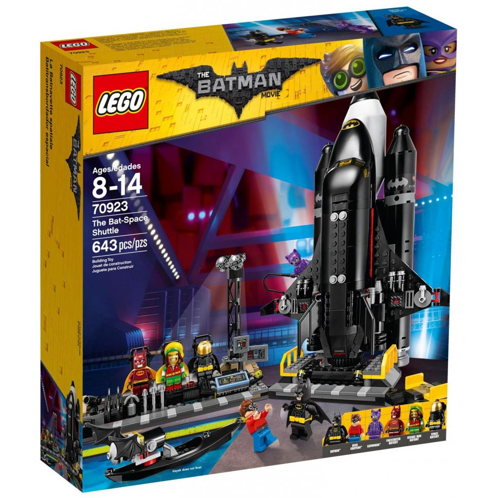 Конструктор LEGO Batman Movie Космический бетшатл (70923)