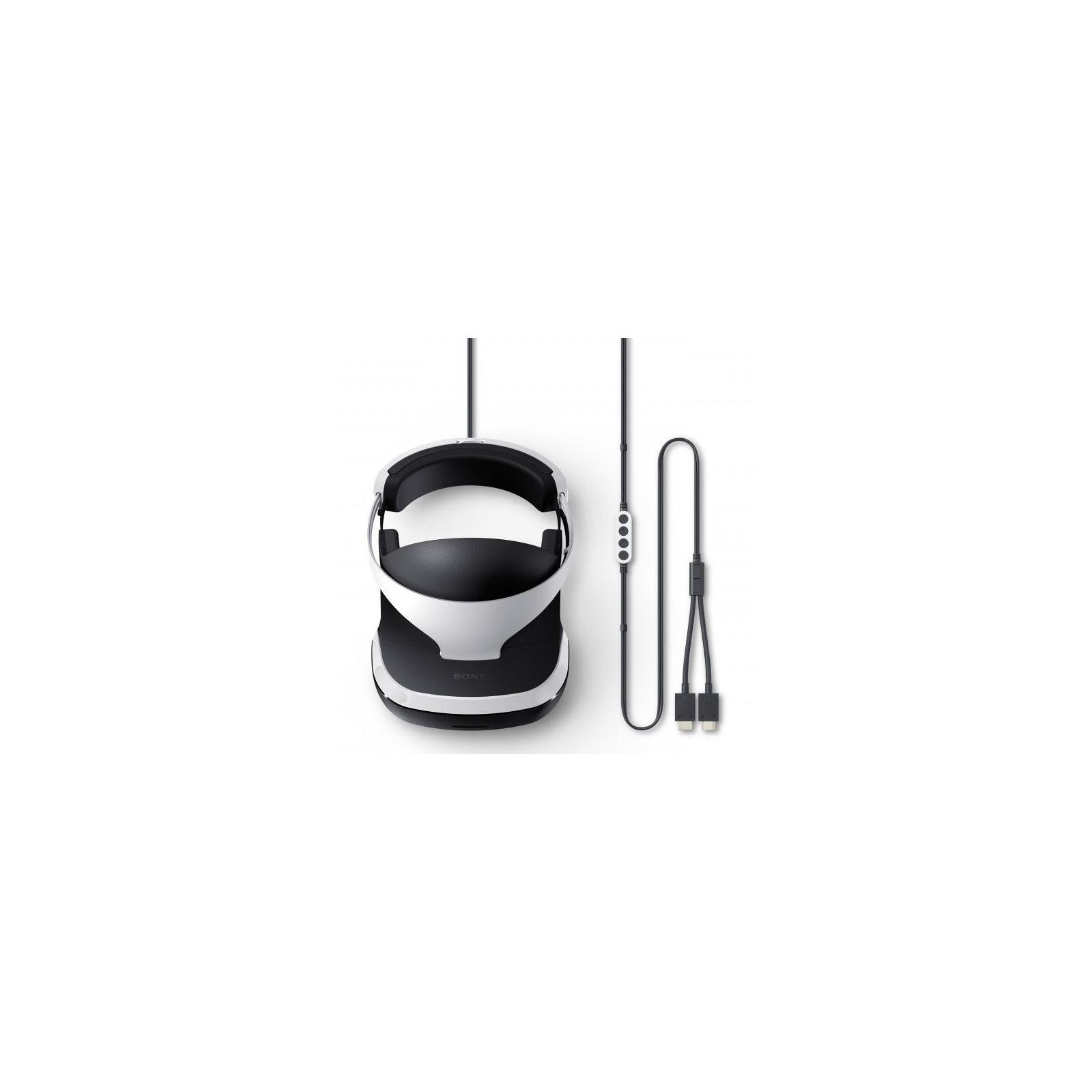 Окуляри віртуальної реальності SONY PlayStation VR (Camera +GTSport +VR  Worlds) зображення 4 8abef59401376