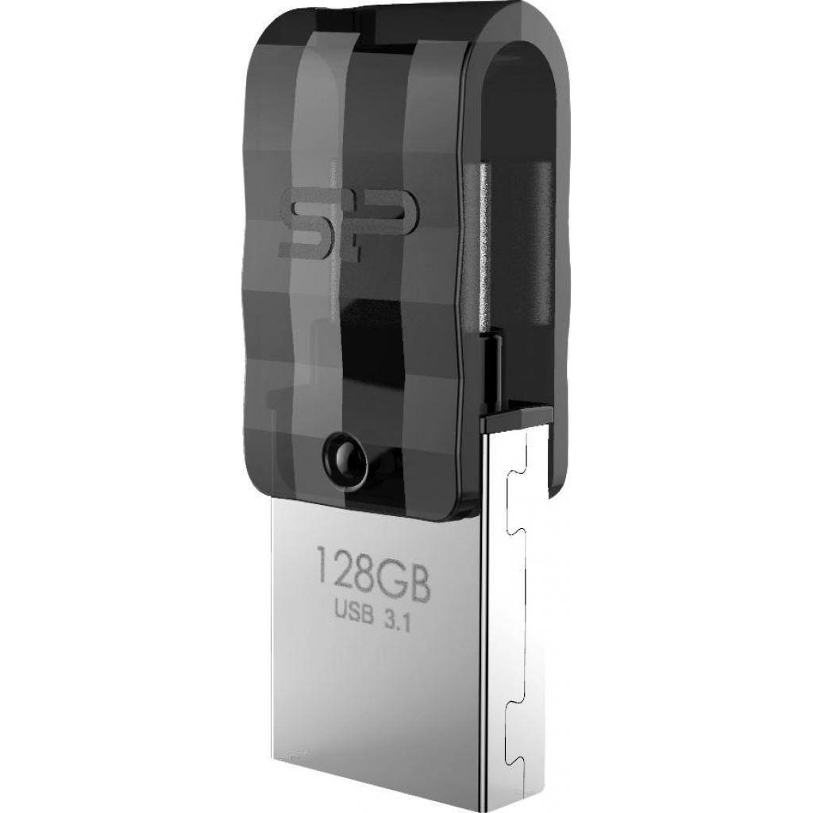 USB флеш накопитель Silicon Power 64GB Mobile C31 USB 3.1 / USB Type-C (SP064GBUC3C31V1K)