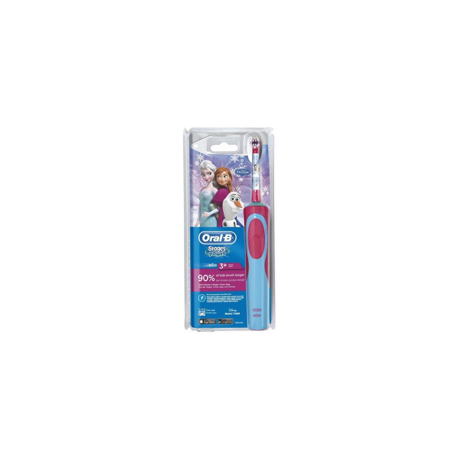 Электрическая зубная щетка Oral-B Frozen D12.513K изображение 2