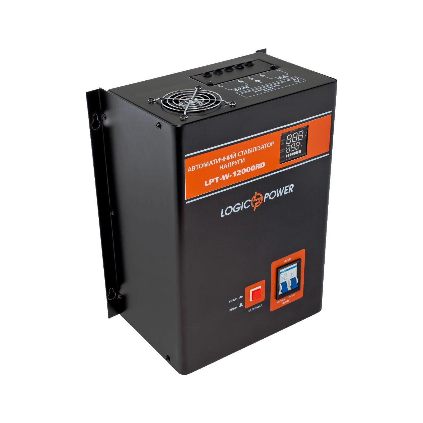 Стабилизатор LogicPower LPT-W-12000RD BLACK (8400W) (6613)
