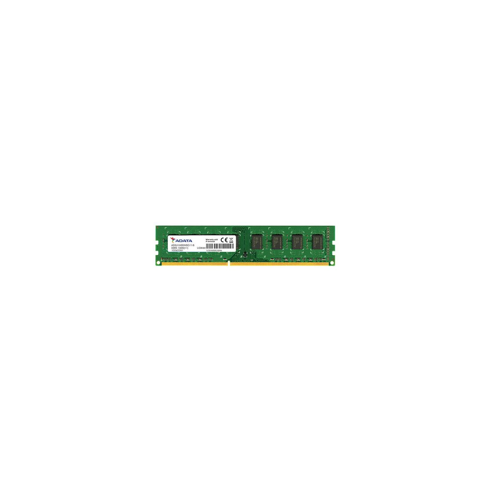 Модуль памяти для компьютера DDR3 2GB 1600 MHz ADATA (AD3U1600C2G11-S)