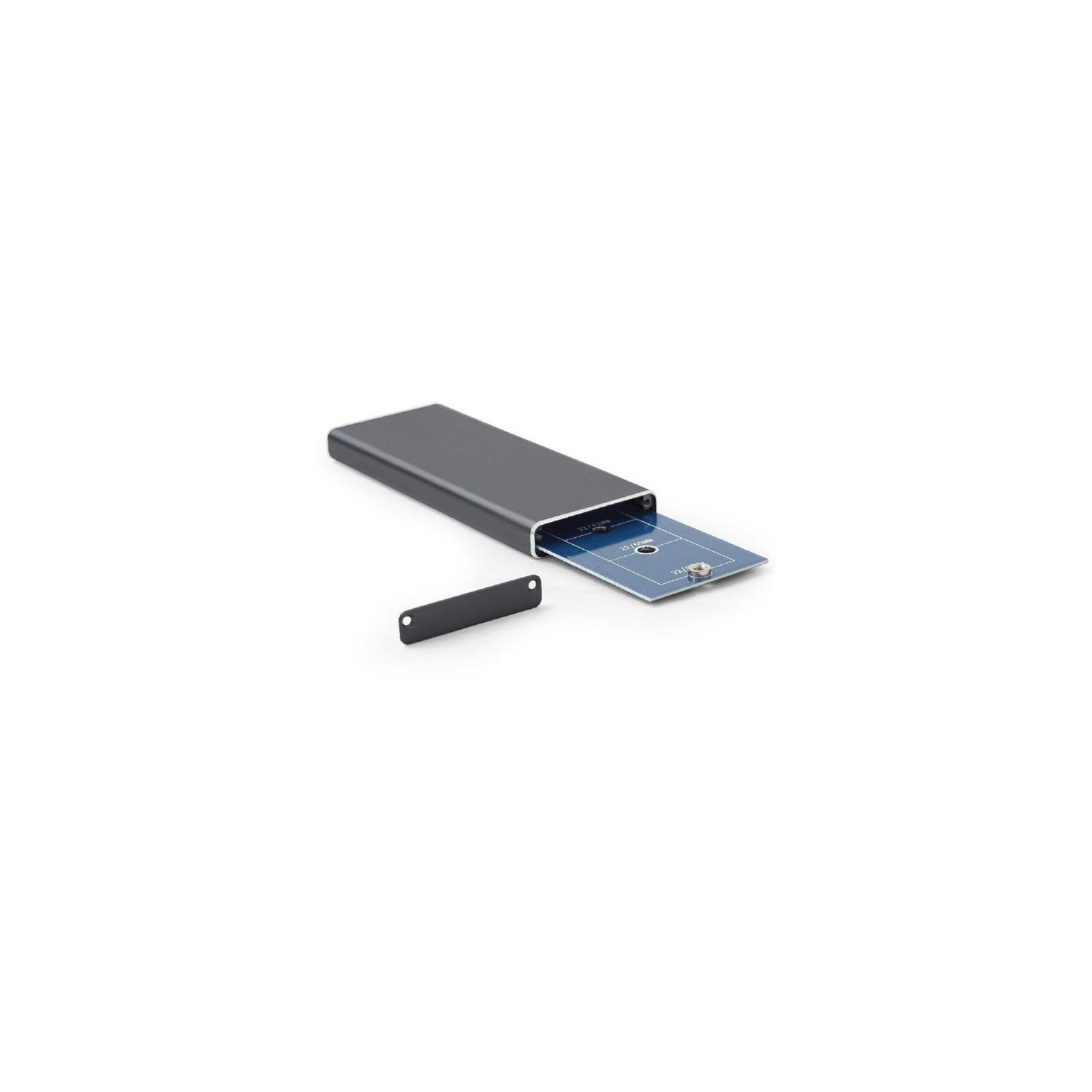 Карман внешний GEMBIRD M.2 (NGFF), USB3.0, черный (EE2280-U3C-01) изображение 2
