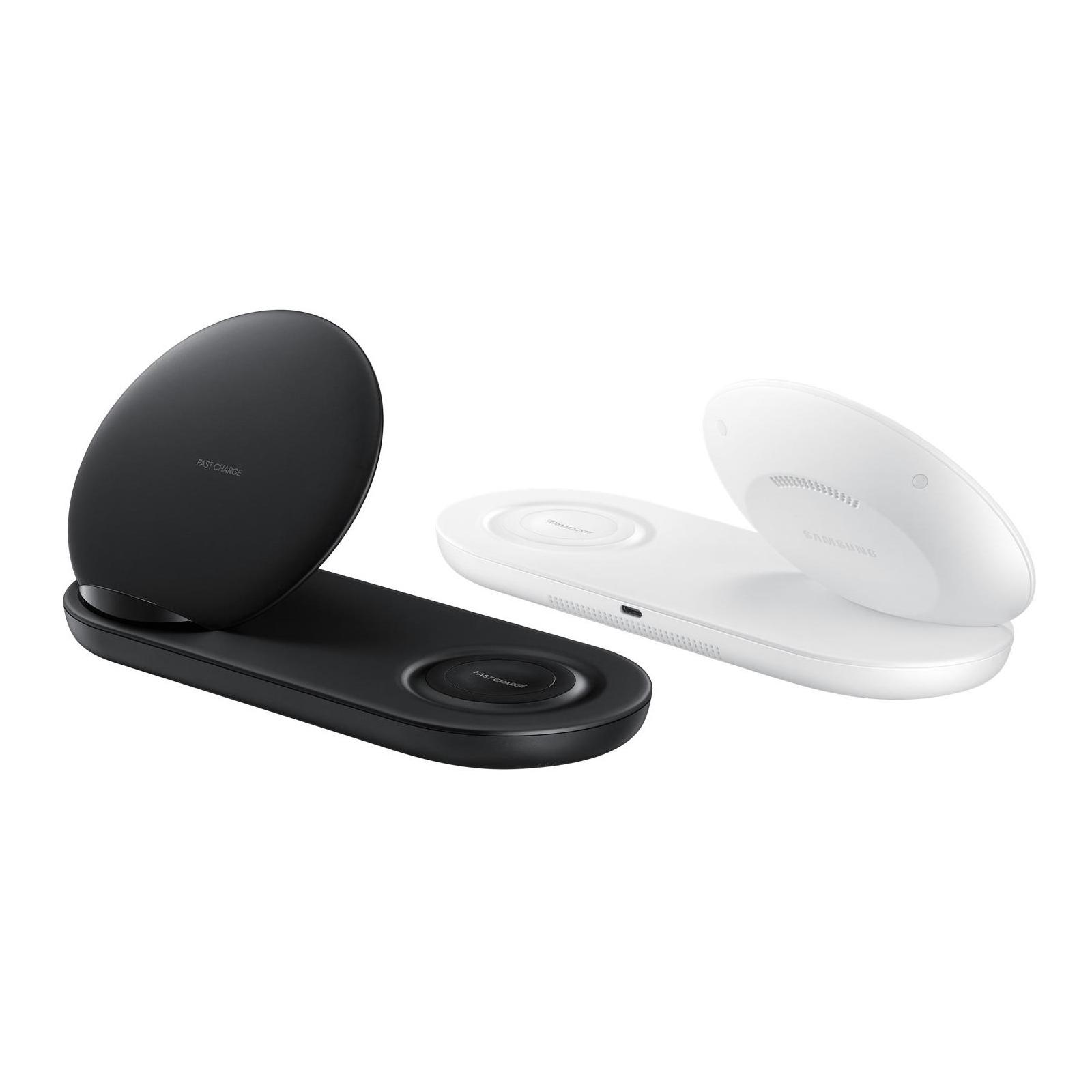 Зарядное устройство Samsung беспроводное Duo Wireless Charger Multi Black (EP-N6100TBRGRU) изображение 10