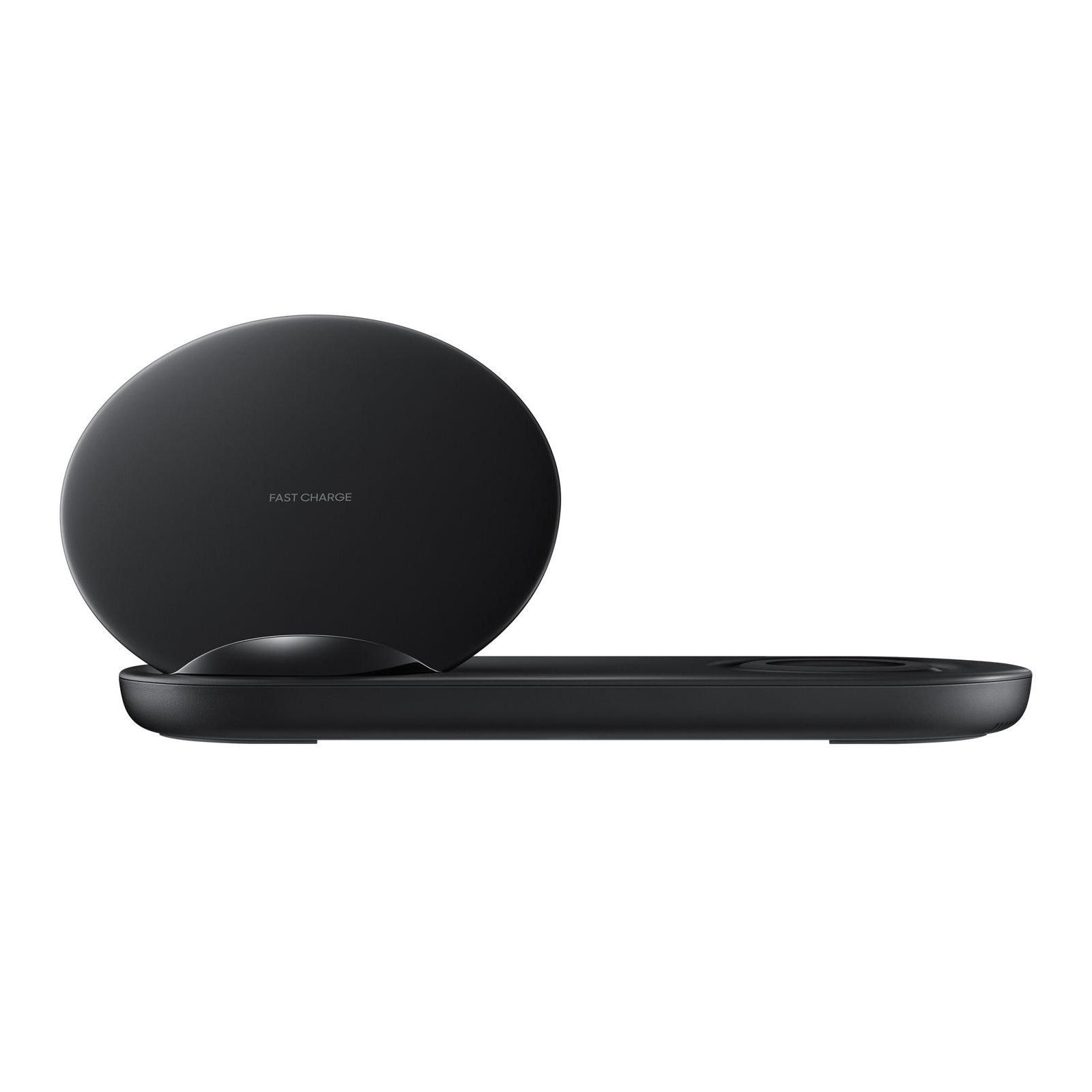 Зарядное устройство Samsung беспроводное Duo Wireless Charger Multi Black (EP-N6100TBRGRU) изображение 2