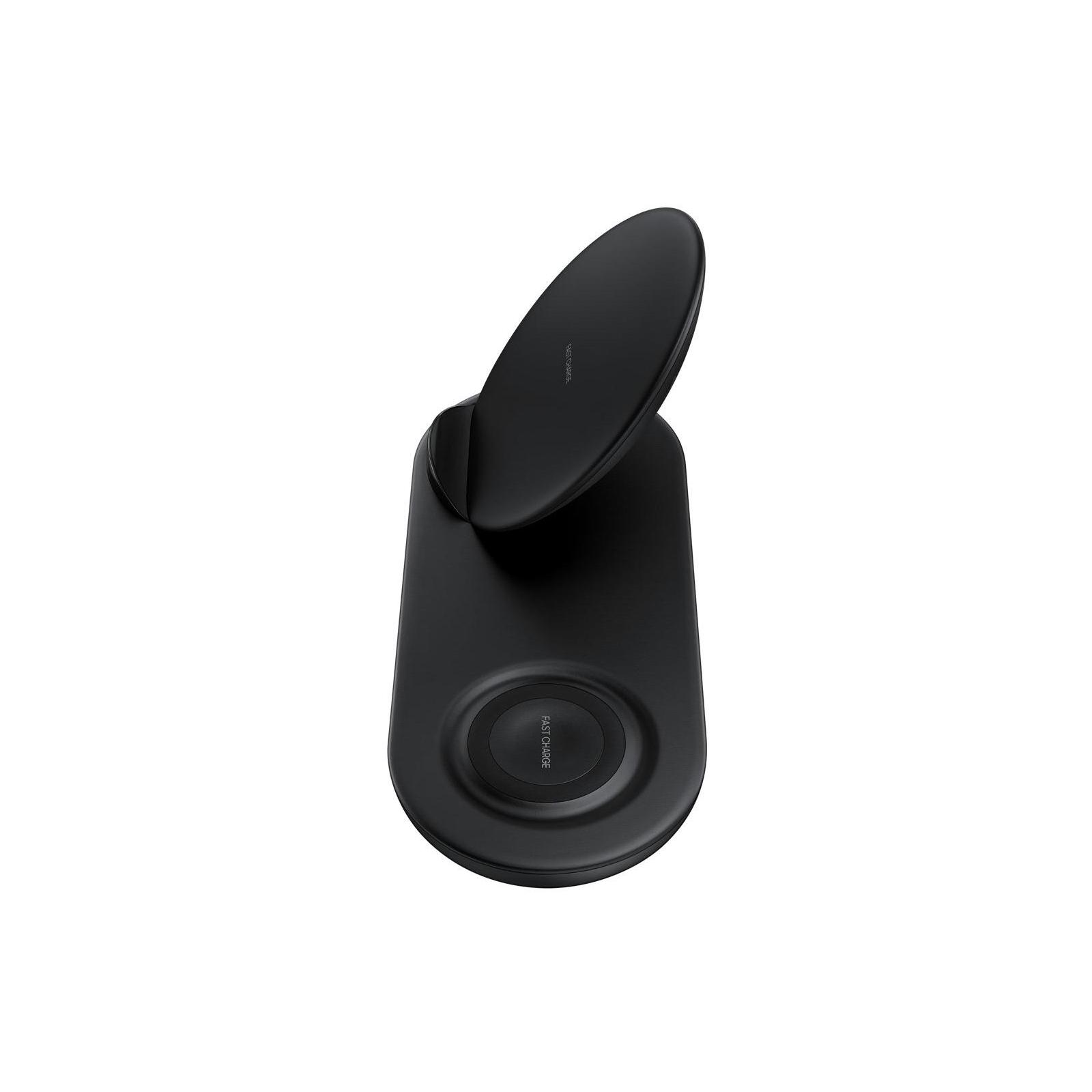 Зарядное устройство Samsung беспроводное Duo Wireless Charger Multi Black (EP-N6100TBRGRU) изображение 5
