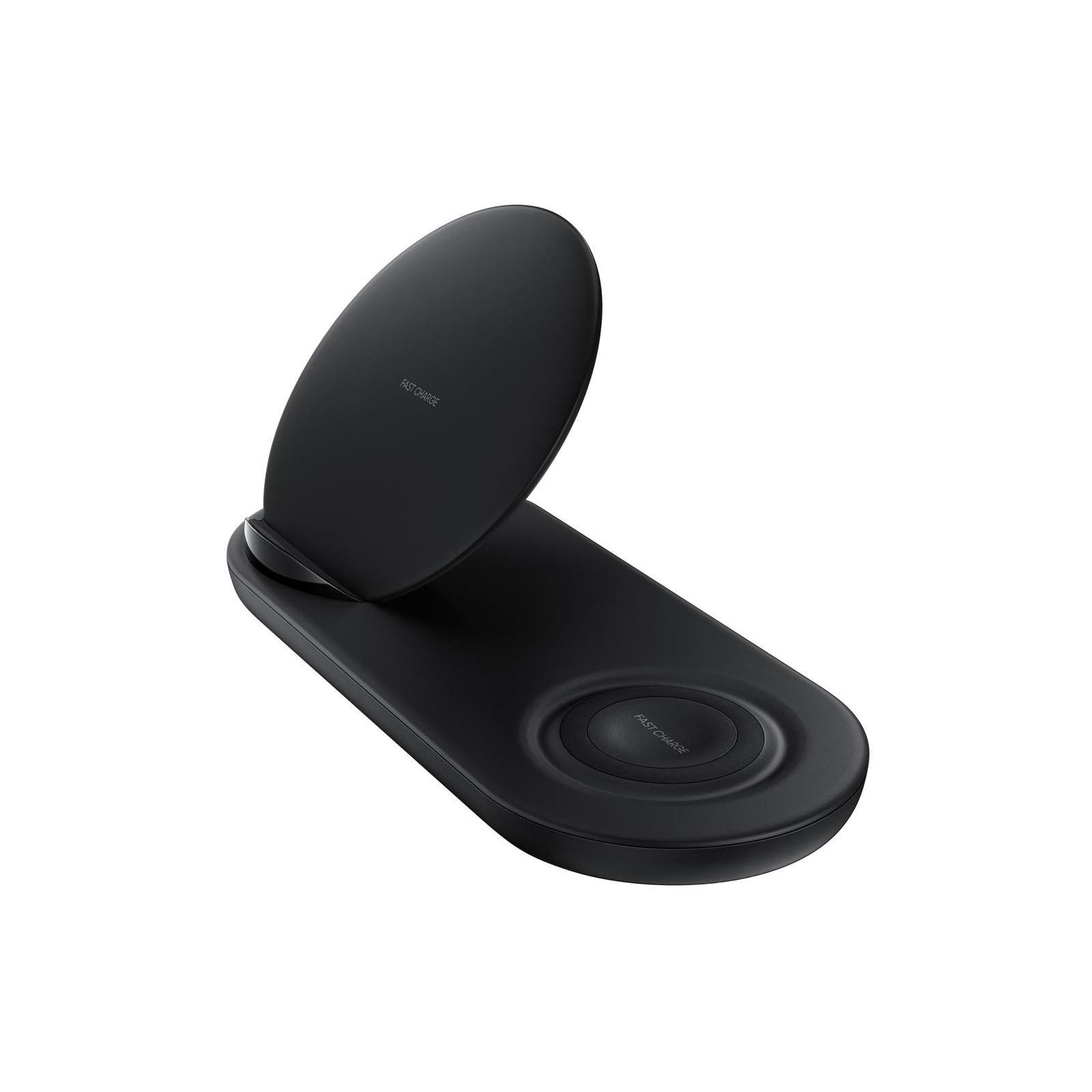 Зарядное устройство Samsung беспроводное Duo Wireless Charger Multi Black (EP-N6100TBRGRU) изображение 7
