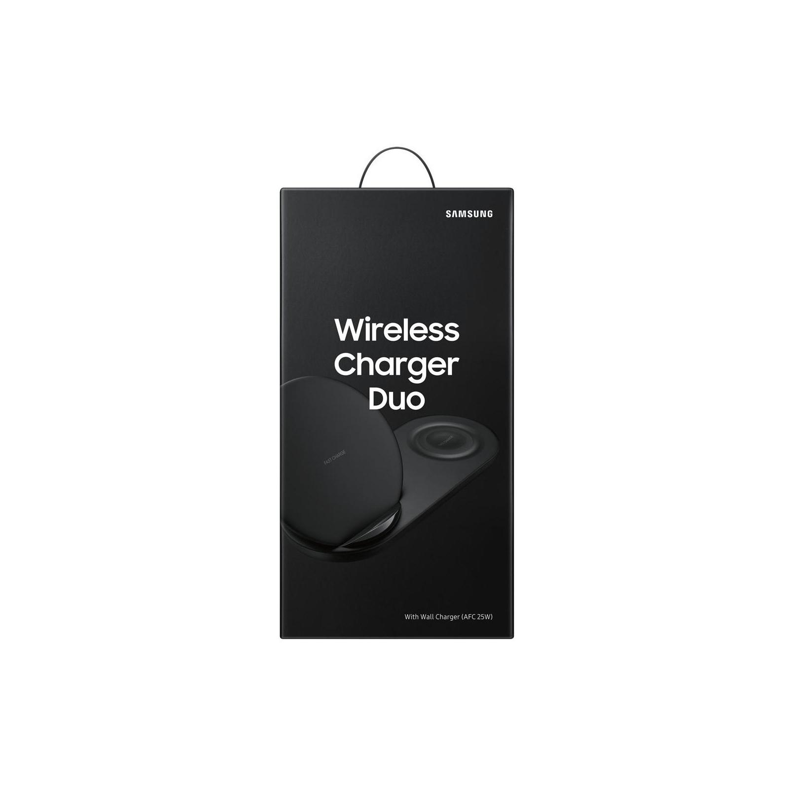 Зарядное устройство Samsung беспроводное Duo Wireless Charger Multi Black (EP-N6100TBRGRU)