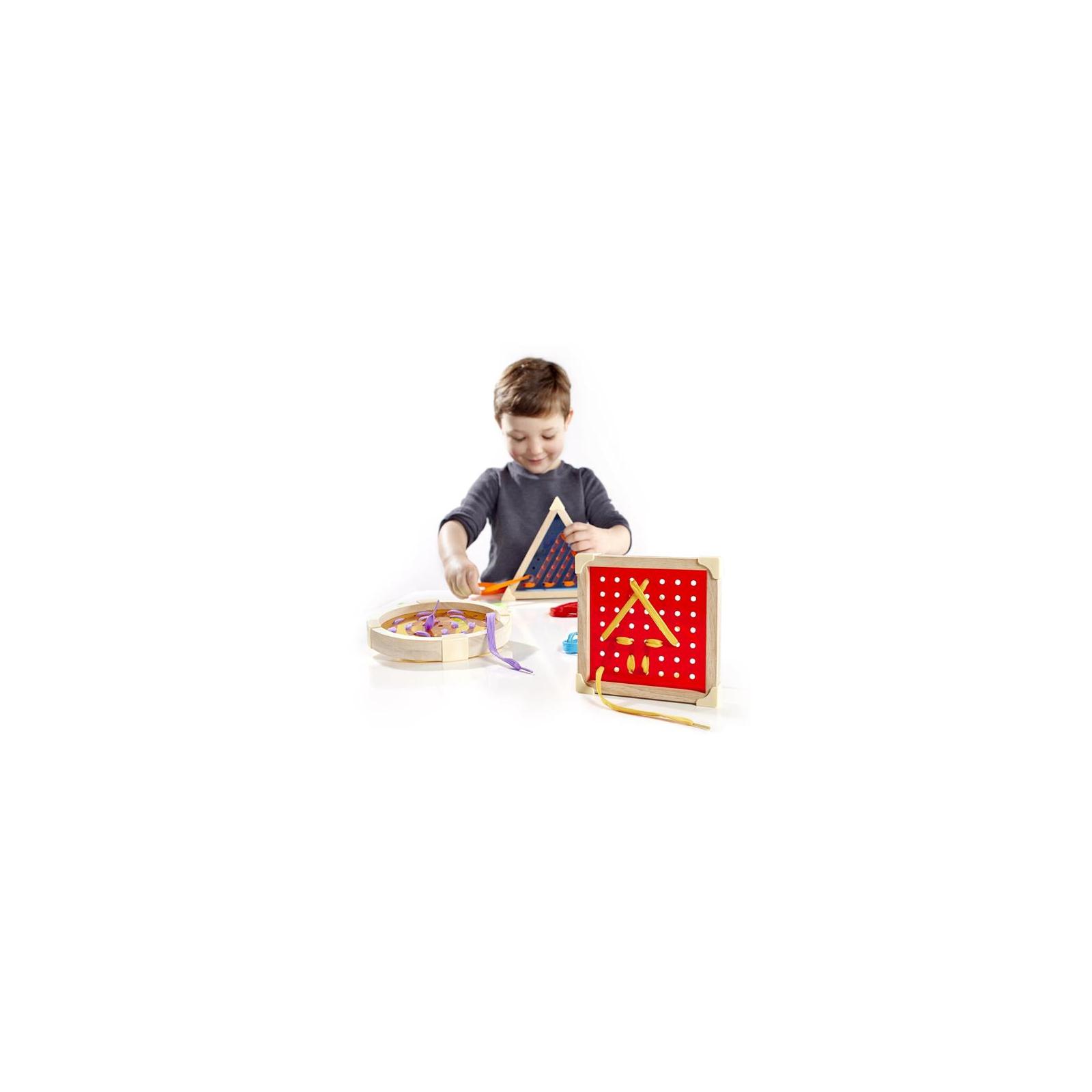Развивающая игрушка Guidecraft Шнуровка Manipulatives Геометрия (G6801) изображение 2