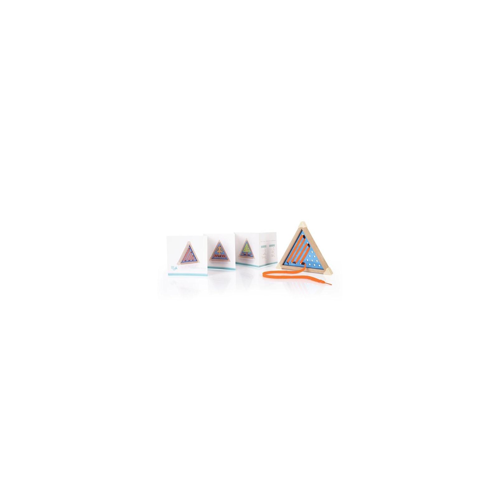 Развивающая игрушка Guidecraft Шнуровка Manipulatives Геометрия (G6801) изображение 8