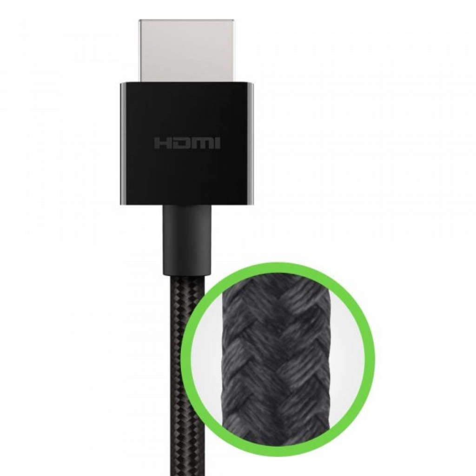 Кабель мультимедийный HDMI to HDMI 1.0m V2.1 Belkin (AV10176BT1M-BLK) изображение 2