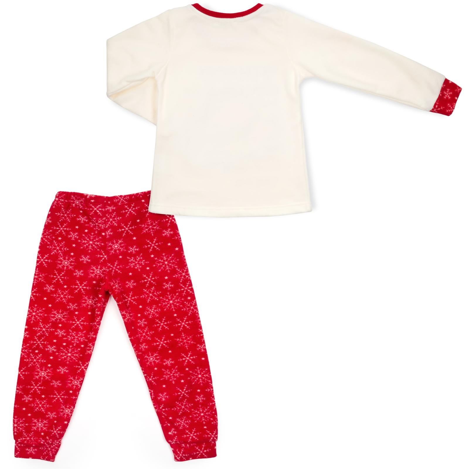 Пижама Matilda флисовая со шляпкой (9110-3-134G-red) изображение 4