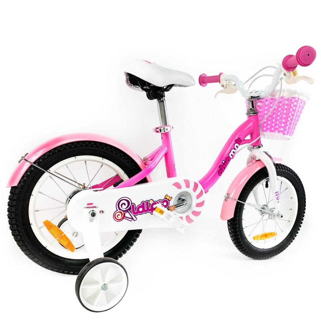 """Детский велосипед Royal Baby Chipmunk MM Girls 16"""", Official UA, розовый (CM16-2-pink) изображение 3"""