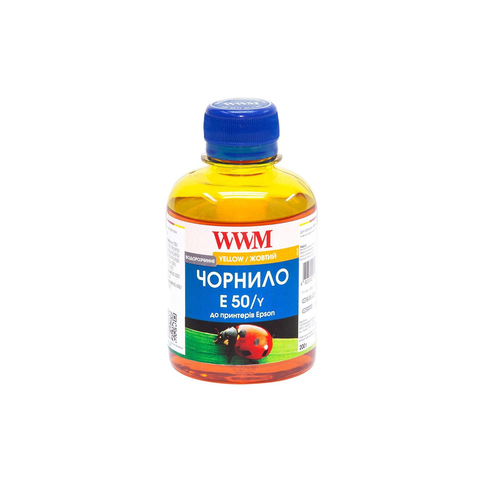 Чернила WWM Epson Stylus Universal yellow (E50/Y)