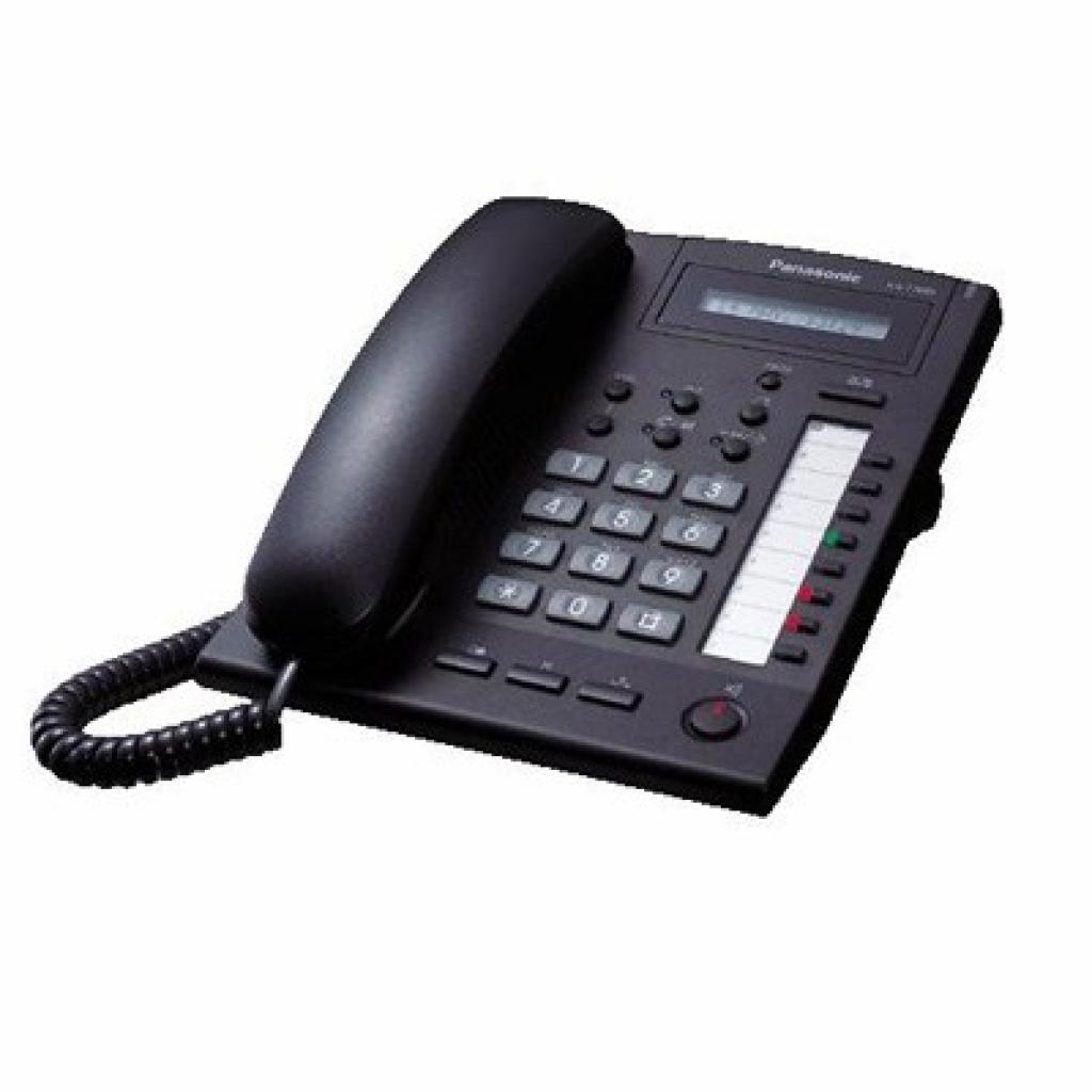 Телефон KX-T7665 Black PANASONIC (KX-T7665UA-B)