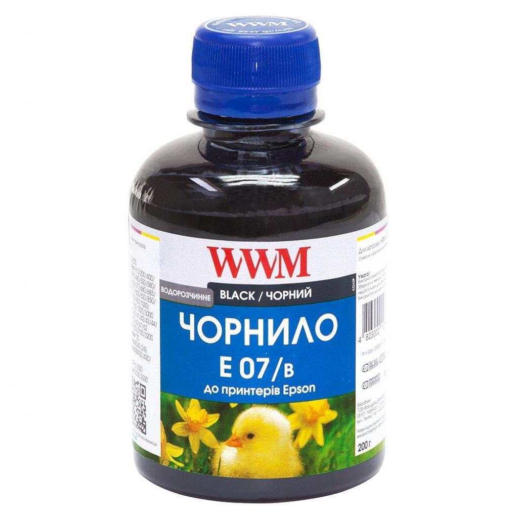 Чернила WWM Epson Stylus Universal Black (E07/B)