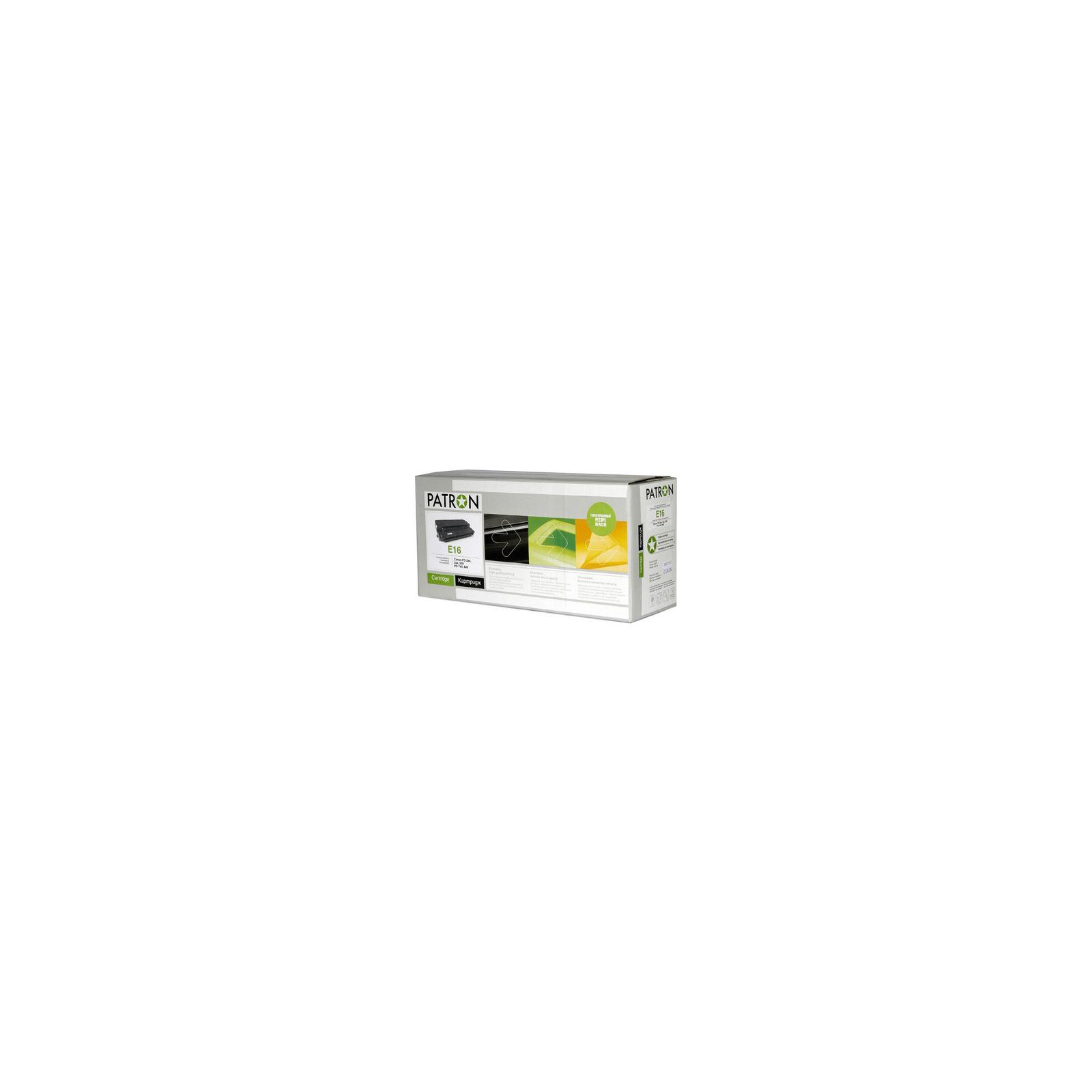 Картридж PATRON CANON E16 EXTRA (для FC/PC copiers) (CT-CAN-E16-PN-R)