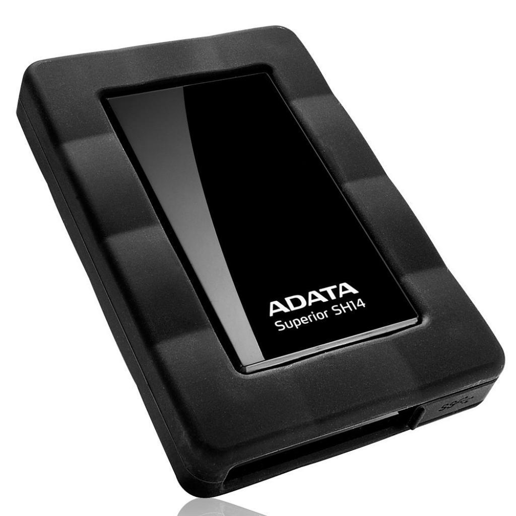 """Внешний жесткий диск 2.5"""" 1TB ADATA (ASH14-1TU3-CBK) изображение 2"""