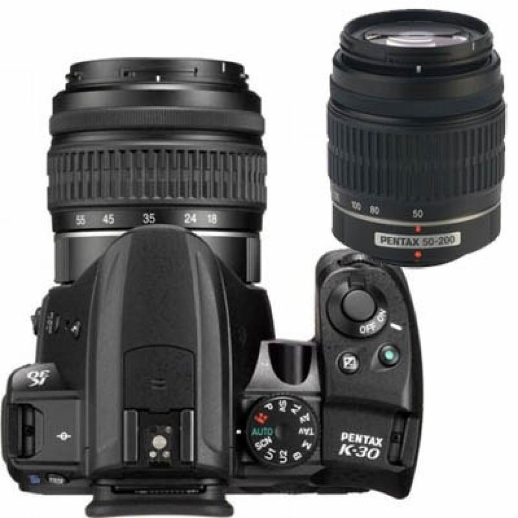 Цифровой фотоаппарат Pentax K-30 + DA L 18-55mm + DA L 50-200mm (15645) изображение 3