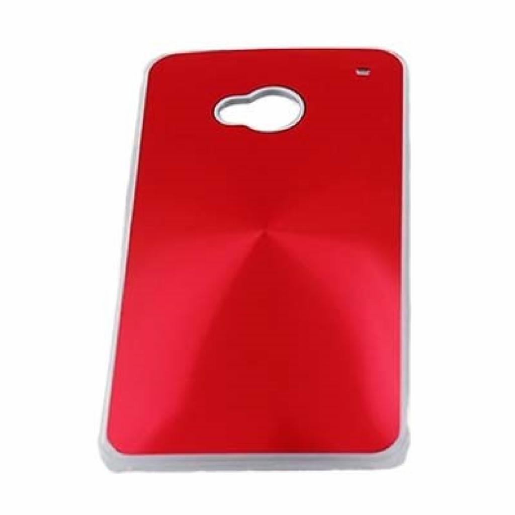 Чехол для моб. телефона Drobak для HTC One /Aluminium Panel/red (218808)