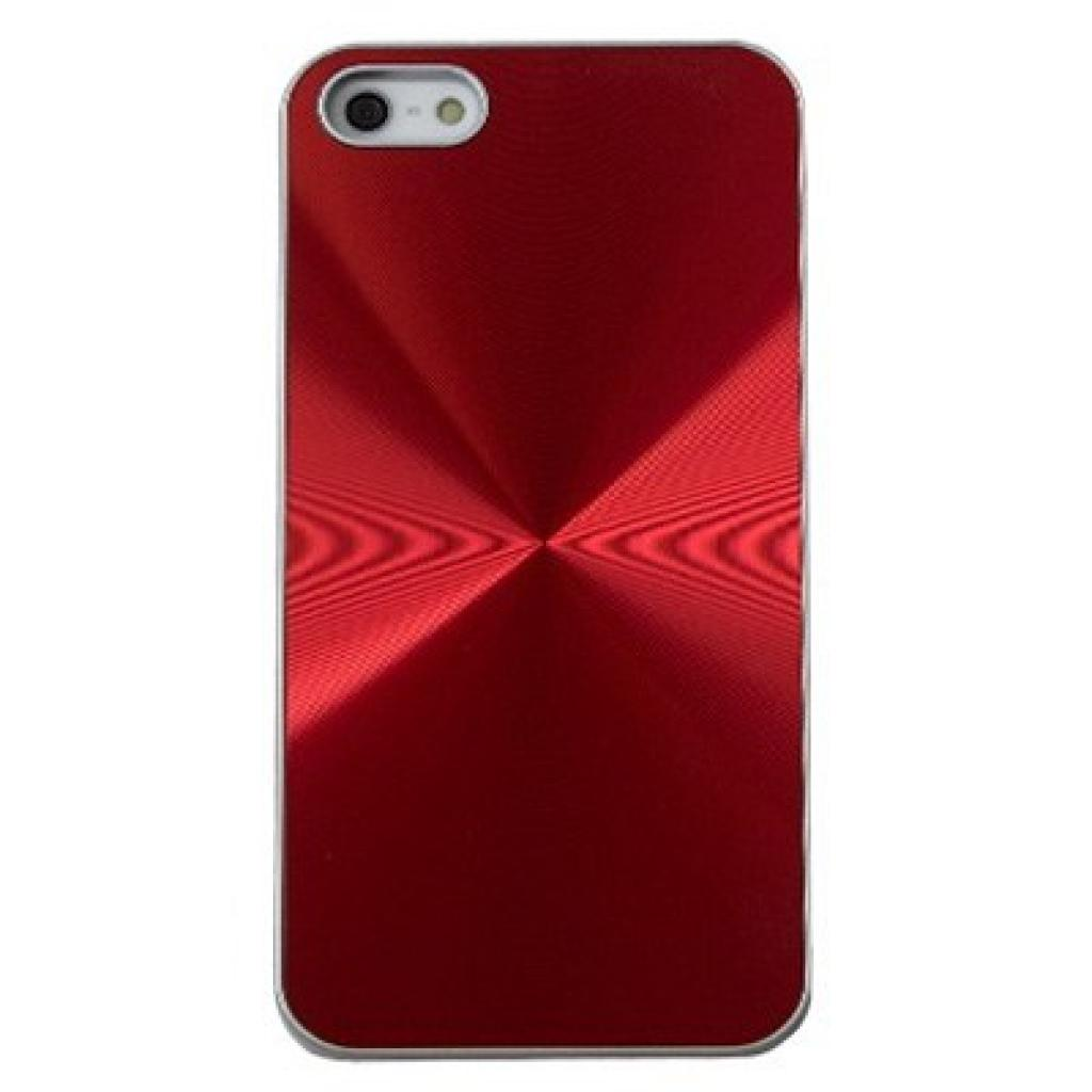 Чехол для моб. телефона Drobak для Apple Iphone 5 /Aluminium Panel Red (210221)