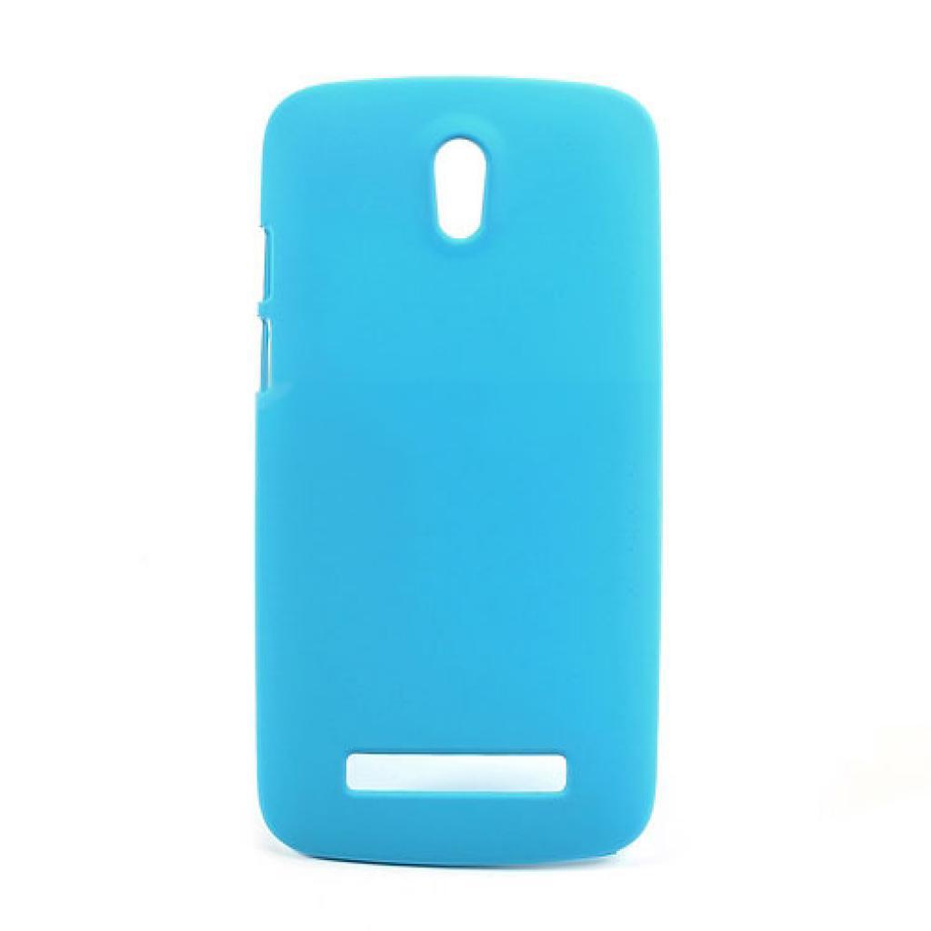 Чехол для моб. телефона Mobiking HTC Desire 500 Blue/Silicon (26059)