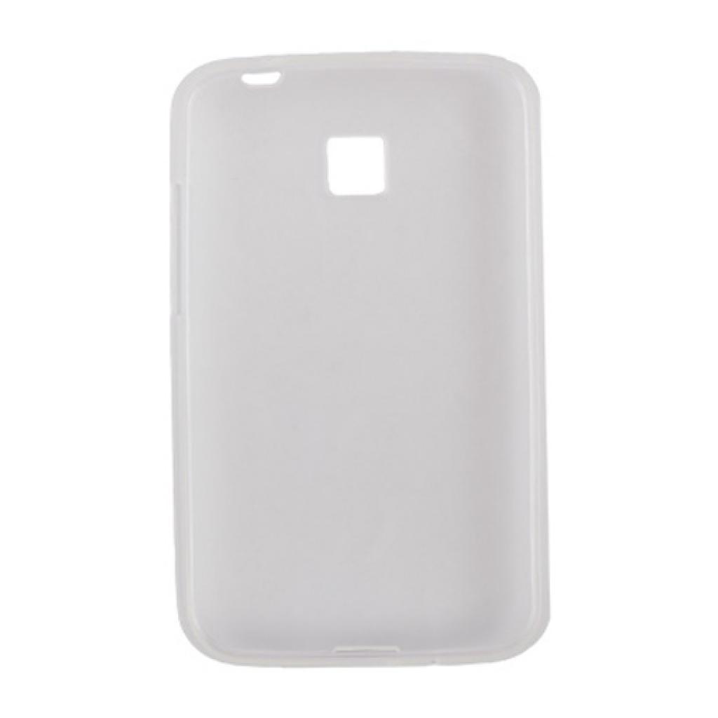 Чехол для моб. телефона Drobak для LG Optimus L3 II E425/435/ElasticPU/WhiteСlear (211550) изображение 2