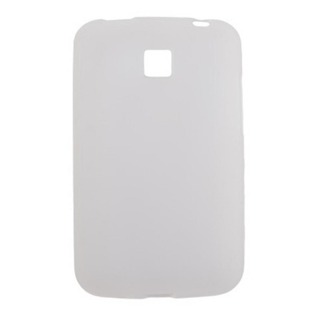Чехол для моб. телефона Drobak для LG Optimus L3 II E425/435/ElasticPU/WhiteСlear (211550)