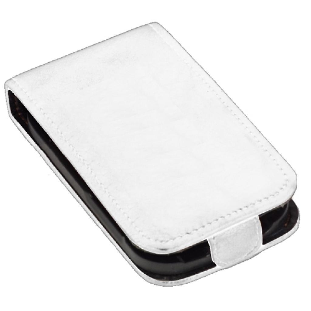 Чехол для моб. телефона KeepUp для LG Optimus L5 (E450) White/FLIP (00-00009297) изображение 3