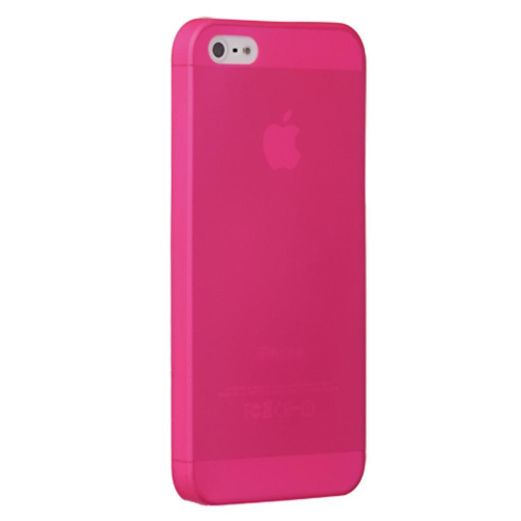 Чехол для моб. телефона OZAKI iPhone 5/5S O!coat 0.3 JELLY/Pink (OC533PK)