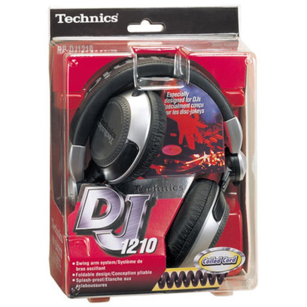 Наушники PANASONIC RP-DJ1210E-S изображение 5