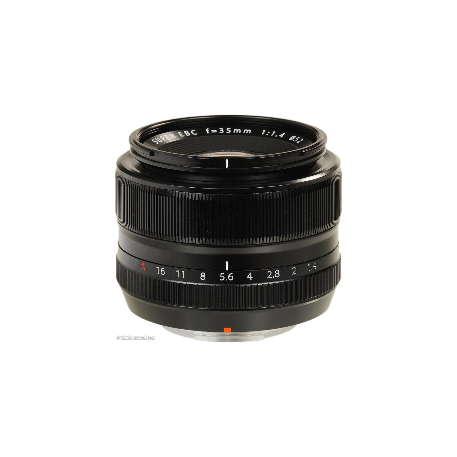 Объектив Fujifilm XF-35mm F1.4 R (16240755) изображение 3