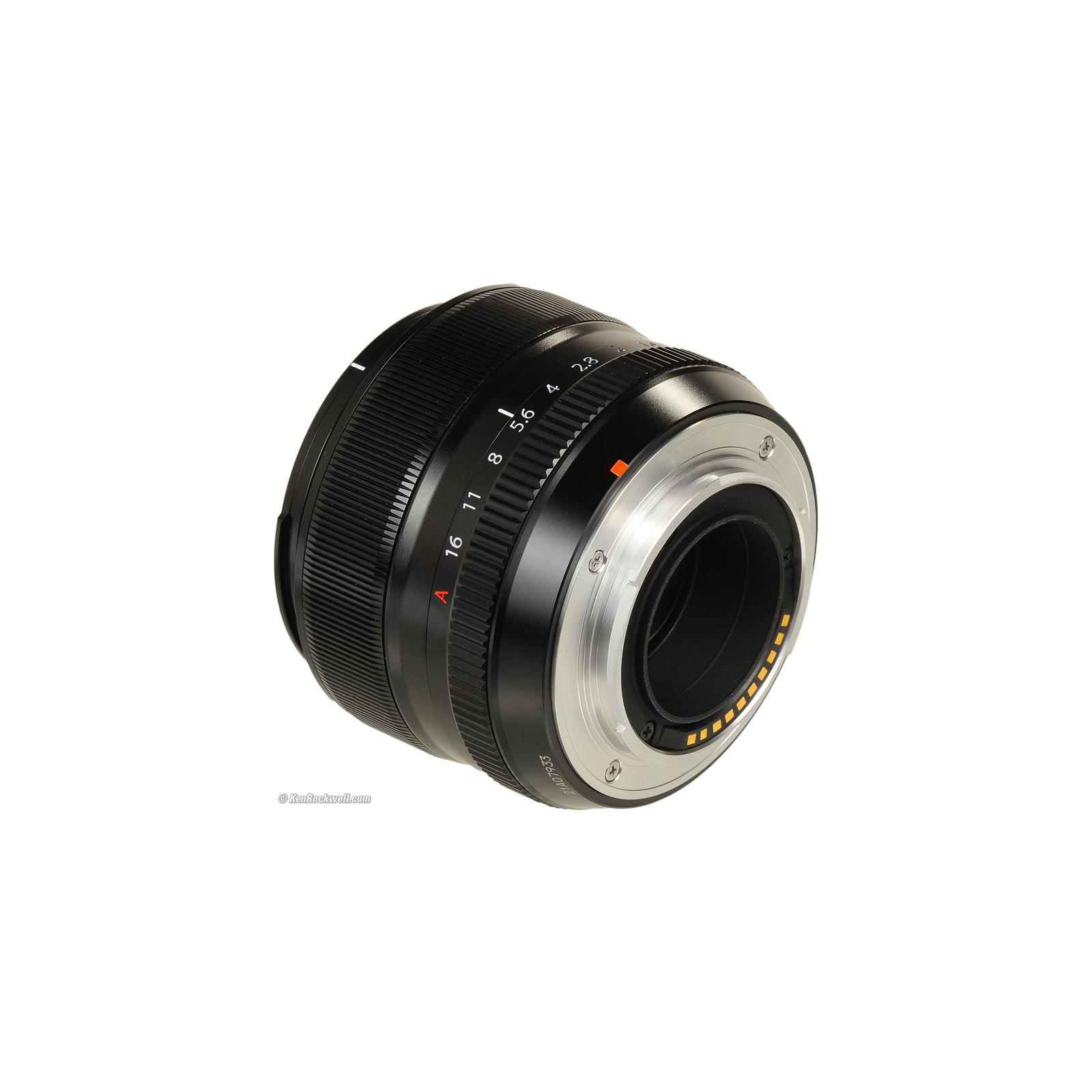 Объектив Fujifilm XF-35mm F1.4 R (16240755) изображение 4